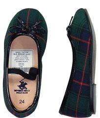 POLO -  נעלי בובה משבצות