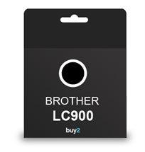 ראש דיו תואם BROTHER LC900 שחור