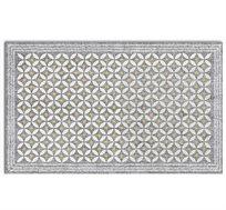 שטיח PVC במגוון גדלים אידיאלי לשימוש במטבח דגם אורבניק גריי פיין גיפטס