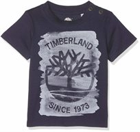 TIMBERLAND טימברלנד ׁ(18-12 חודשים) - טישרט לוגו כחול