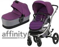 עגלת תינוק עם סל שכיבה אפיניטי Affinity Ii - סגול