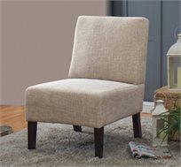 כורסא מעוצבת בסגנון רטרו נוחה לישיבה בעלת מסגרת מעץ מלא