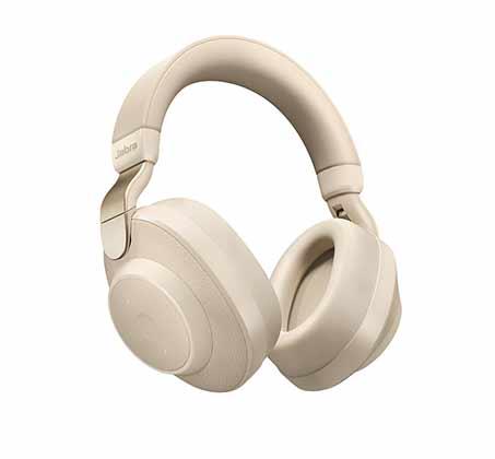 אוזניות אלחוטיות Jabra פרימיום עם מסנן רעשים אקטיבי Elite 85h  + מטען אלחוטי בלקין מתנה - משלוח חינם - תמונה 2