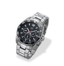 שעון יד לגבר מבית ADI בעל עיצוב ספורט אלגנט, עמיד במים עד 50M ועשוי פלדת אל חלד