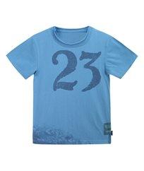 חולצת סינגל עם דפוס תמונה דיגיטל