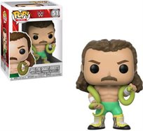"Funko Pop - Jack ""The Snake"" (Wwe) 51  בובת פופ"