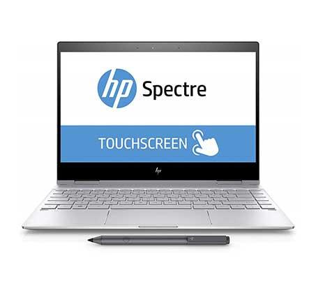 """מסך """"13.3 Intel Core I7 זכרון 8GB ומ.הפעלה Windows 10 Home דגם Spectre x360 AE011"""