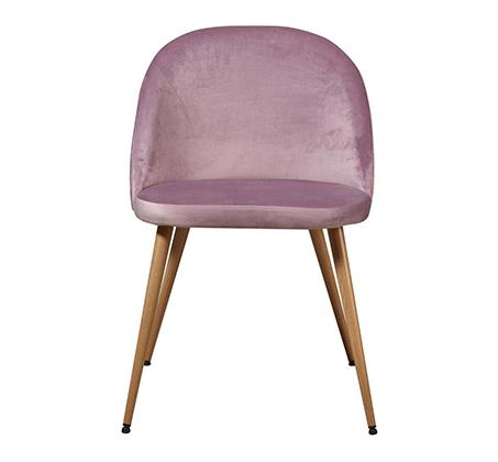 סט 4 כיסאות לפינת אוכל בריפוד קטיפה דגם Scandi בצבעים לבחירה מבית Ze Sweet Home - משלוח חינם - תמונה 7