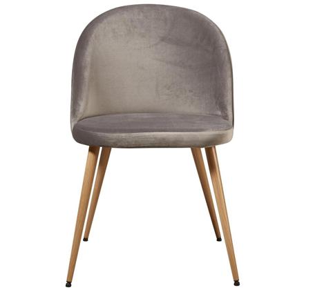 סט 4 כיסאות לפינת אוכל בריפוד קטיפה דגם Scandi בצבעים לבחירה מבית Ze Sweet Home - משלוח חינם - תמונה 10
