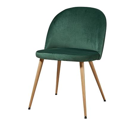סט 4 כיסאות לפינת אוכל בריפוד קטיפה דגם Scandi בצבעים לבחירה מבית Ze Sweet Home - משלוח חינם - תמונה 3