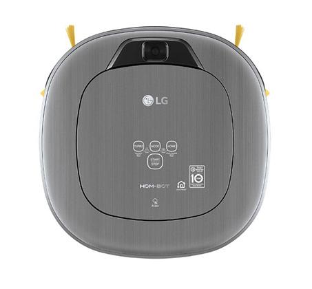 שואב חכם LG HOM-BOT עם חיבור WIFI ושליטה מרחוק דרך הסמארטפון דגם VR-6480VMNC - משלוח חינם - תמונה 2