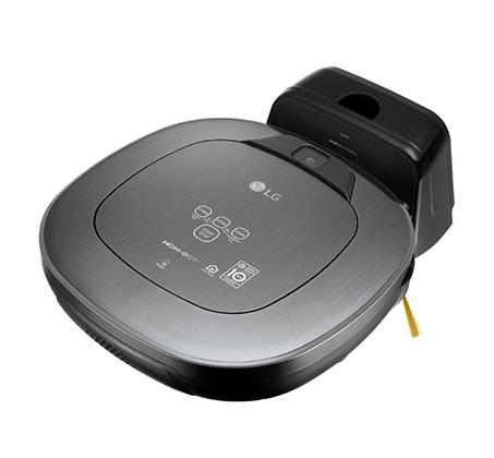 שואב חכם LG HOM-BOT עם חיבור WIFI ושליטה מרחוק דרך הסמארטפון דגם VR-6480VMNC - משלוח חינם - תמונה 4