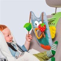 פעלולון ומנורת שינה מנגנת לרכב ינשוף