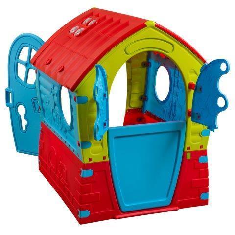 בית החלומות - בית משחק צבעוני לילדים לחצר/מרפסת PalPlay - תמונה 2
