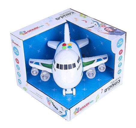 הרפתקה בשחקים מטוס דובר עברית