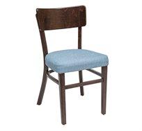 כסא מטבח מעץ כולל ריפוד מושב דגם מעיין