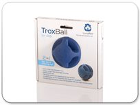טרקסבול Troxball כדור לעיסה ומשחק לכלב