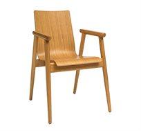כיסא קלאסי מעץ אלון לשימוש במטבח ובחדרי עבודה וילדים