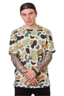 חולצת טי לגברים SUPPLY בצבע קמן ירוק