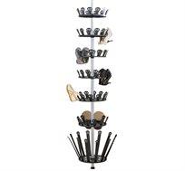 מתקן טלסקופי 7 קומות לאחסון עד 36 זוגות נעליים ומגפיים MY HOME DESIGN