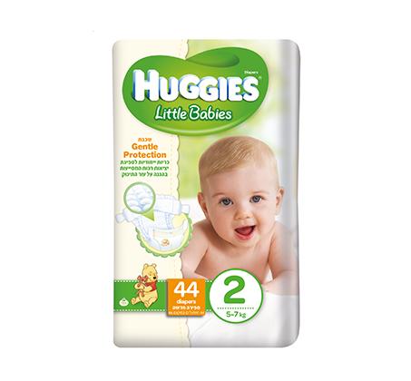 מארז הכולל חיתולי Huggies Little Babies, מגבונים לעור רגיש, משטחי החתלה, נרתיק מגבונים ותיק gitta - תמונה 2