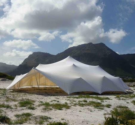 אוהל מבד לייקרה איכותי המסנן כ-98% קרני UV לקמפינג וחוף, התקנה קלה וידידותית  - משלוח חינם - תמונה 3