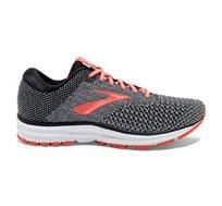 נעלי ריצה REVEL 2 לנשים בצבע שחור לבן וכתום