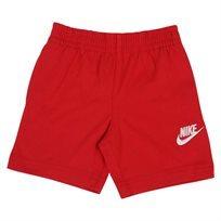 מכנס נייקי קצר אדום לפעוטות - NIKE CLUB JERSEY SHORT RED