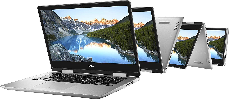מחשב נייד עם מסך מגע 14 מסתובב Dell Inspiron 5482 מעבד Core i5 8265U זיכרון 8GB דיסק 256SSD - תמונה 2