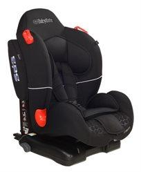 כסא בטיחות ובוסטר Bolen Lux Isofix עם מערכת הגנת צד - שחור