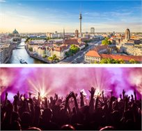 לני קרביץ בהופעה בברלין כולל טיסות ומלון החל מכ-€459*