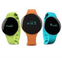 שעון חכם, ספורטיבי ואופנתי עם חיבור Bluetooth לסמארטפון APPLE/ANDROID במגוון צבעים לבחירה