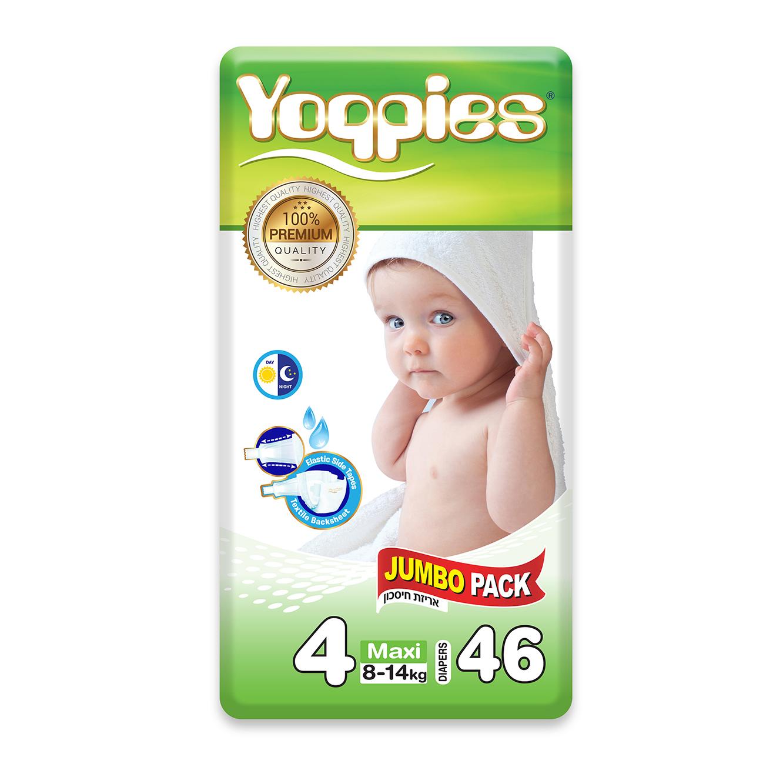מארז 6 חבילות חיתולי פרימיום Yoppies + מארז מפנק הכולל שמפו וסבון של דיסני מתנה - תמונה 3