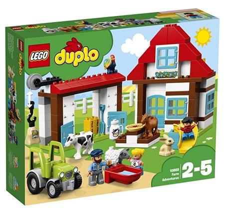 הרפתקאות בחווה  - משחק לילדים LEGO
