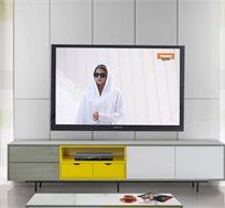 מזנון לסלון בעיצוב מודרני בעל מגירות וחללי אחסון דגם פקטורי