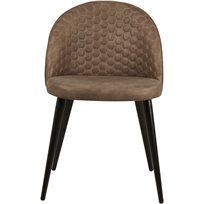 סט של 4 כיסא לפינת אוכל Monaco  - בז' - משלוח חינם