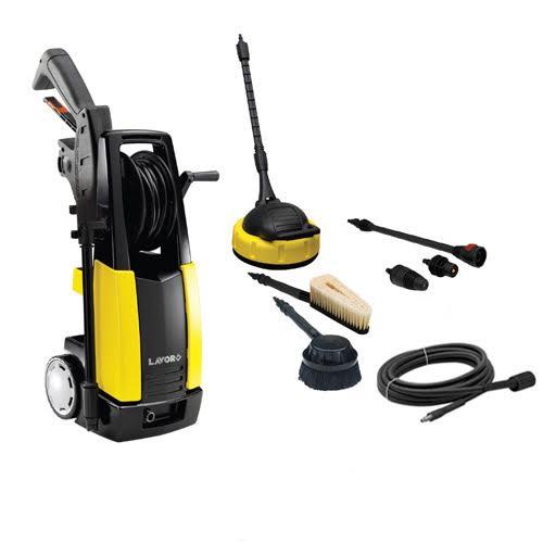 מכונת שטיפה חזקה במיוחד W2100 בלחץ 145 בר + סבון חצי ליטר מתנה