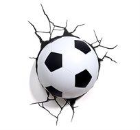 מנורת לד כדורגל 3D