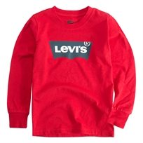 LEVIS ילדים // LONG SLEEVE GRAPHIC TEE RED