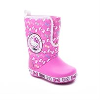Crocs Hello Kitty Gust Boot - מגפי הלו קיטי לילדות בצבע ורוד