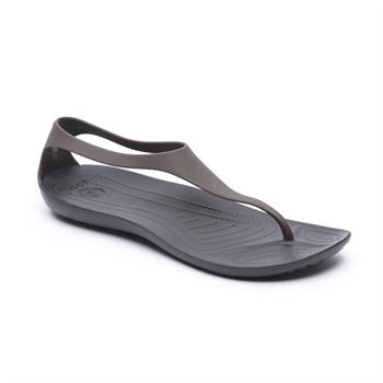 Crocs Sexi Flip - סנדל אצבע לנשים בצבע חום