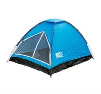 אוהל PICNIC ל-4 אנשים עם פתיחה מהירה כולל יתדות וחבלי מתיחה