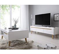 סט שולחן ומזנון סלוני בעיצוב מודרני וצעיר דגם LIAT