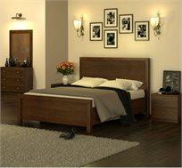 סט ריהוט לחדר השינה הכולל מיטה, שתי שידות לילה, קומודה ומראה דגם OLIVER במגוון צבעים לבחירה