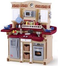 מטבח לילדים דגם לייף סטייל מסיבה עם 33 אביזרי משחק 7678