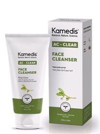 קמדיס אק מדיס תרחיץ פנים טיפולי לניקוי עור שמן