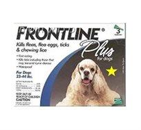 """טיפות להדברת פרעושים Frontline לכלב במשקל של 10-20 ק""""ג"""