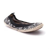 Yosi Samra Ballerina 349 - נעלי בלרינה שחור לבן