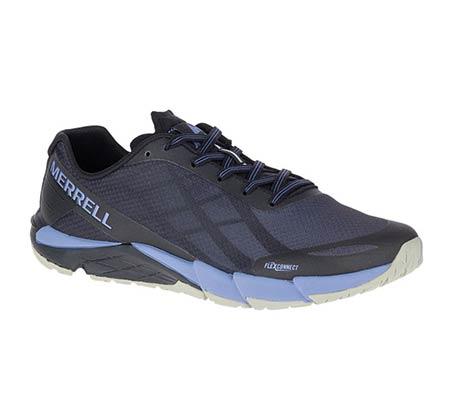 נעלי ריצת שטח לנשים - שחור/סגול