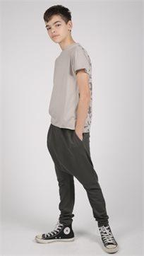 MAYAYA מכנסי באגי (2-14 שנים) גופרית עם פאטצ רגל אחורית